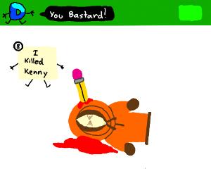 Panel 8 killed Kenny!