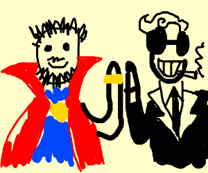 Dr Strange meets Dr Strangelove