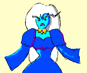 Ice Queen from Adventure Time