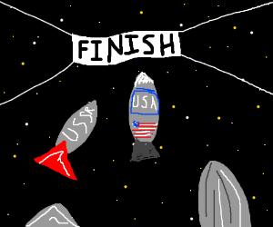 space race! USA!!