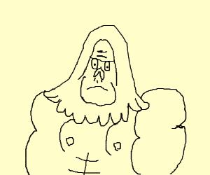 The gorilla guy from regular show