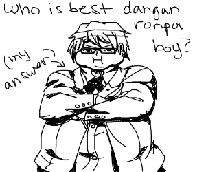 who is best boy of danganronpa answer me-