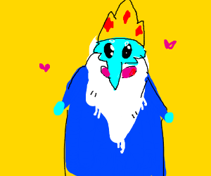 Ice King Kawaii