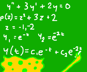 Spongebob doing math