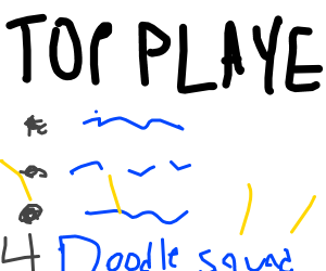 Congrats 4 being 10 on leaderboard DoodleSquad