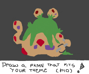 Draw a Pokemon That Fits Your Theme PIO