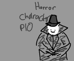 Horror Movie Character Pio Drawing By Rakoon Shampoo Drawception