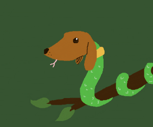 Dachshund serpent