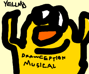 Drawception the musical Starring YELLOMO