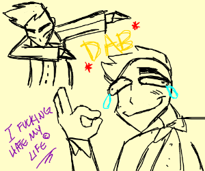 Professor Oak regrets Dabbing xD