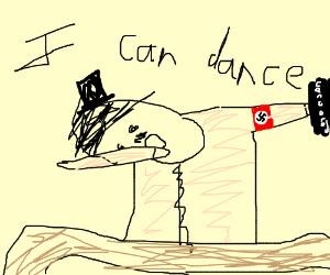 dancing Charlie Chaplin