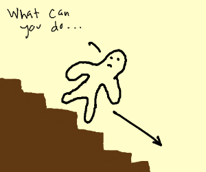 im tired of climbing stairs