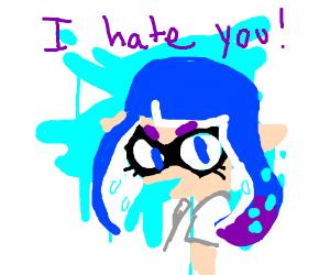 Squid Kid (Splatoon) hates you