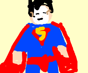 The (Super)man behind the mask