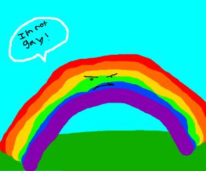 Rainbows aren't gay