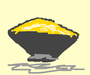 bowl of delicious popcorn