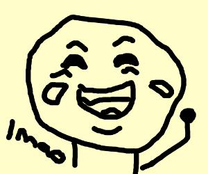 Top Laughing Crying Emoji 100 Ay Lmao Roblox Drawing By Mwx