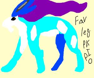 Your favorite legendary pokémon PIO (Dialga)