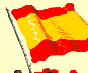 Spanish flag... FLAH