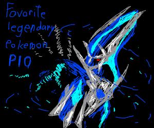 Favorite Legendary Pokémon PIO (Mine's Lugia)