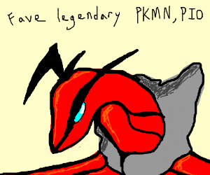 Fav Legendary Pokemon PIO