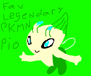 Favorite Legendary Pokemon PIO (Rayquaza)