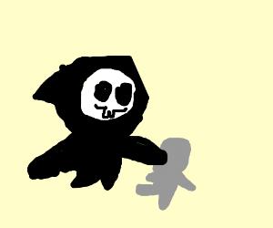 grim reaper bullies grey man