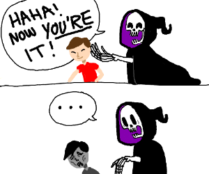 Grim Reaper Playing Tag