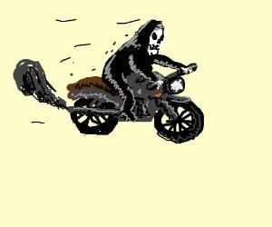 haunted motorcycle
