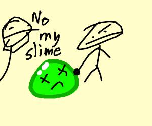 someone kills someone elses slime