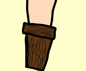 Egg With A Leg Drawception