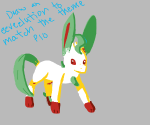 Draw An Eeveelution to Match The Theme PiO