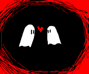 Two ghosts in love