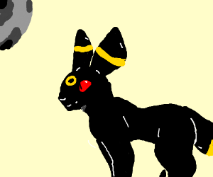 umbreon pokemon which is very good