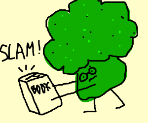 brocoli man read to slam