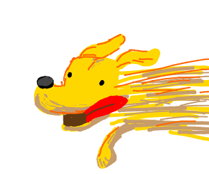 Doggo Running at Incredible Hihg Speed