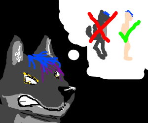 Wolf thinks Furries are gross