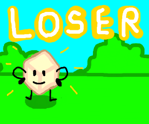 Loser from Battle for BFDI - Drawception