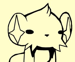 Shinx, but drawn like ilysm