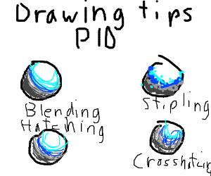 Drawing tips P.I.O.