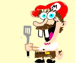 Spongebob and Mario (Fusion)