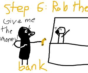 Step 5: Get a job at the a bank