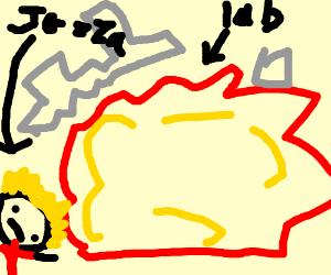 Lab explodes