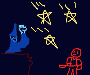 Mage cast star spell on newb
