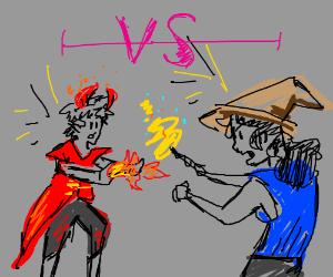 Devil vs. Wizard