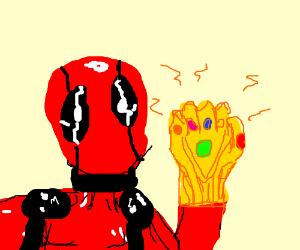 deadpool got the infinity gauntlet