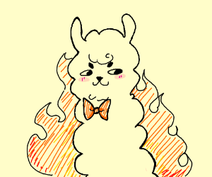 Fire Alpaca P I O  - Drawception