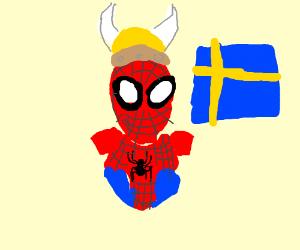 Swedish spiderman  (Jag ar Spindelman!)