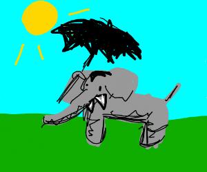 Dracula as an elephant