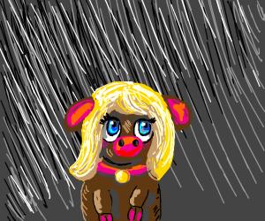 Melisa In The Rain